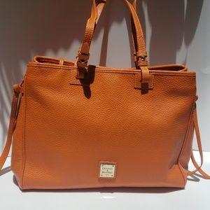 Dooney & Bourke orange leather purse